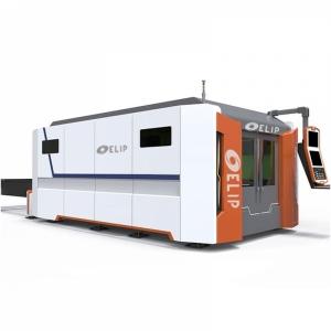 Máy Cắt CNC Laser Fiber Kim Loại Tấm Elip-D1000W