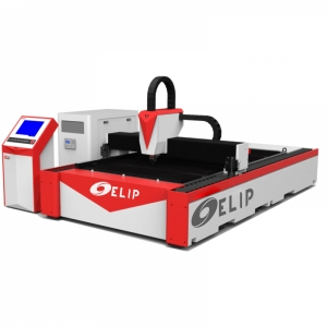 Máy Cắt CNC Laser Fiber Kim Loại Tấm Elip S500W